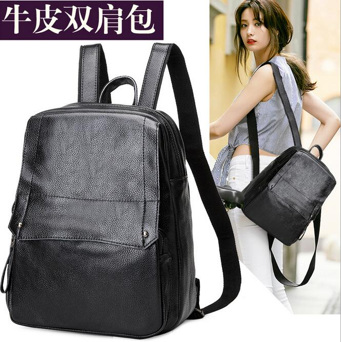 newhotstacy bag 111416 geniune leather women new fashion backpack travel bag