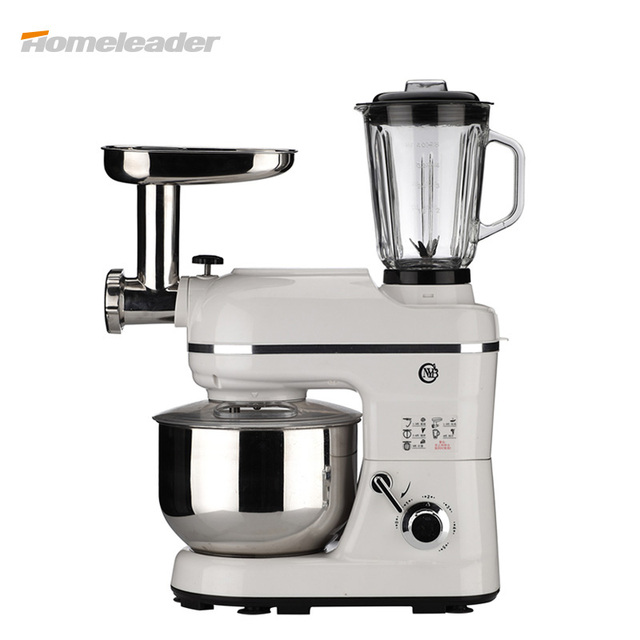 2017 new food blender multifunctional stand food mixer chef machine for baking kitchen cooking - Kitchen Mixers