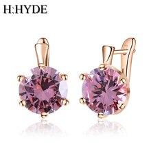 Женские серьги с кристаллами h:hyde винтажные сережки подвески