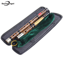 Chinese Bamboo Flute Two Section Concert Flute C D E F G  Professional Flute Musical Instruments Chinese Bamboo Transverse Flute