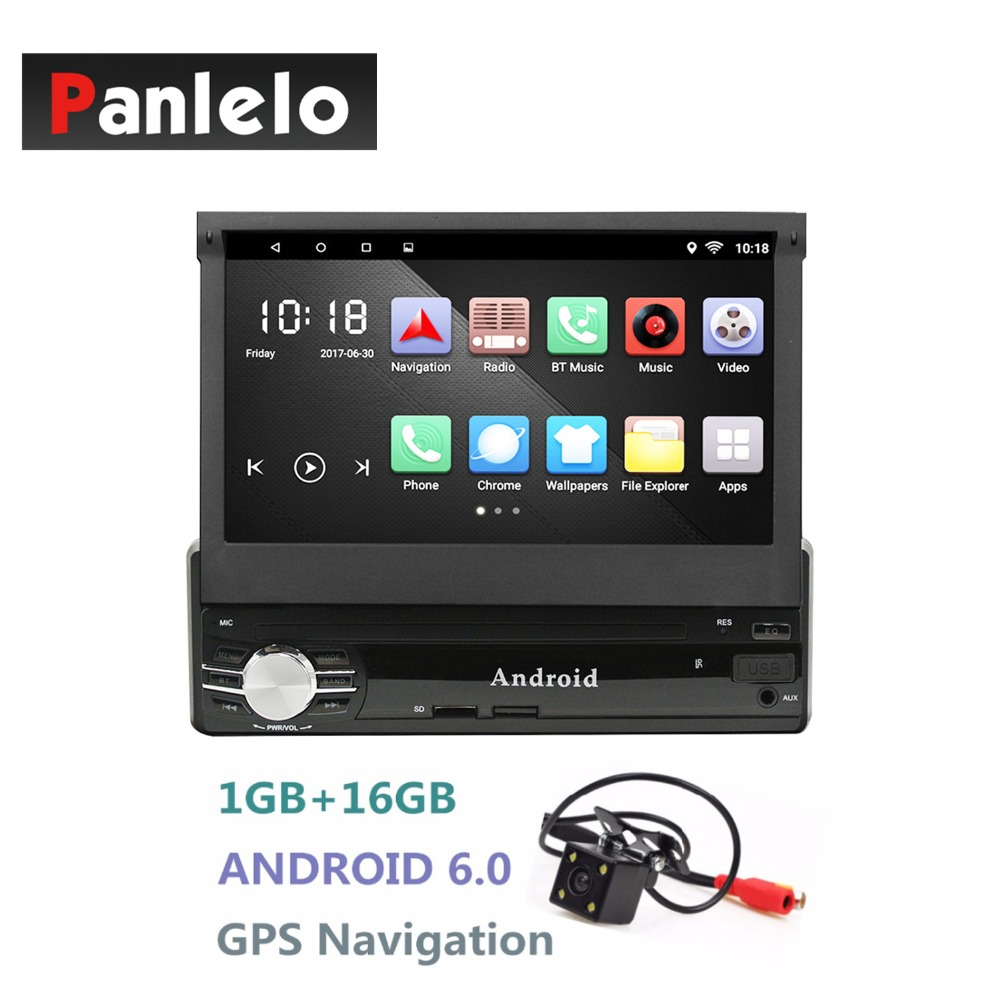android single 1din car radio stereo quad core 6 0 touch. Black Bedroom Furniture Sets. Home Design Ideas