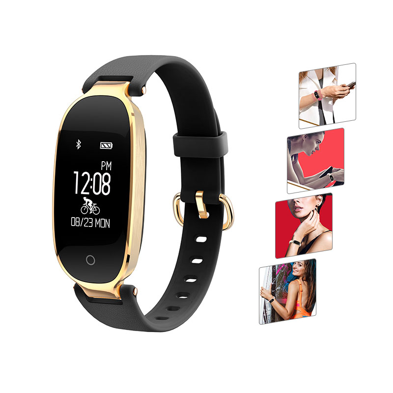 2018 Smart Wristband S3 Heart Rate Monitor GPS Tracker IP65 Anti Lost Remote Camera Control Smart