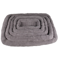 Large Dog Bed Soft Blanket Pink Gray Blue Brown Pet Dog Beds For Small And Medium