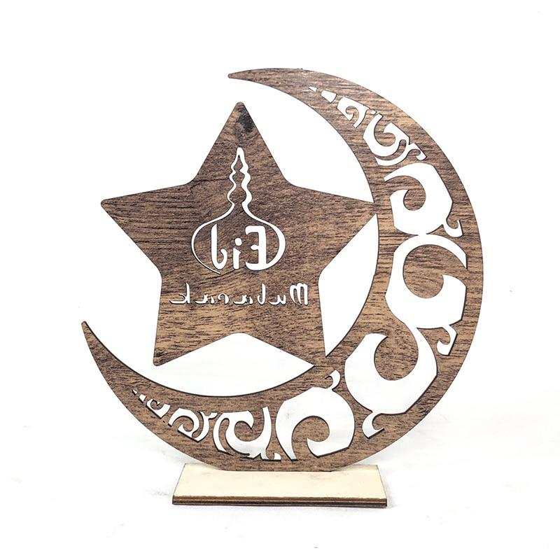 New Happy Eid Mubarak Decor for Home Ramadan Decoration Eid Mubarak Gift for Ramadan Et Eid Decorations Islam Kareem Candle tray