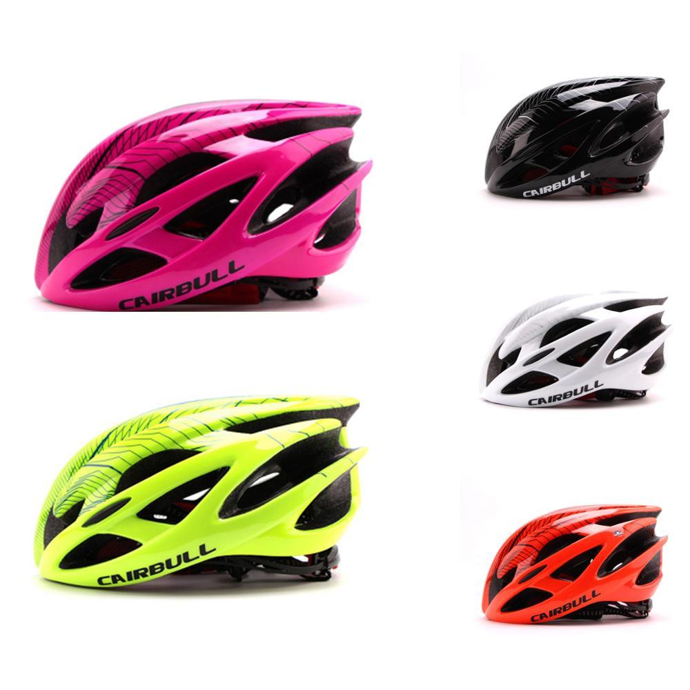 2017 étrangères vente chaude casque de vélo une formant casque d'équitation de vélo de montagne de route rose