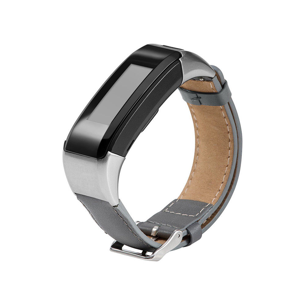 Fashion Leather <font><b>Watch</b></font> Bands for Garmin Vivosmart HR Approach <font><b>X10</b></font> X40 5 Color Wristband Bracelet Leather <font><b>Watch</b></font> Strap Accessory image