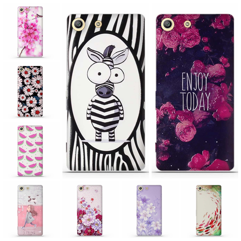 Phone Case For Sony Xperia M5 Silicone Case Cover bumper For Sony Xperia M5 E5603 E5606 E5653 Cover TPU For Sony Xperia M5 Case
