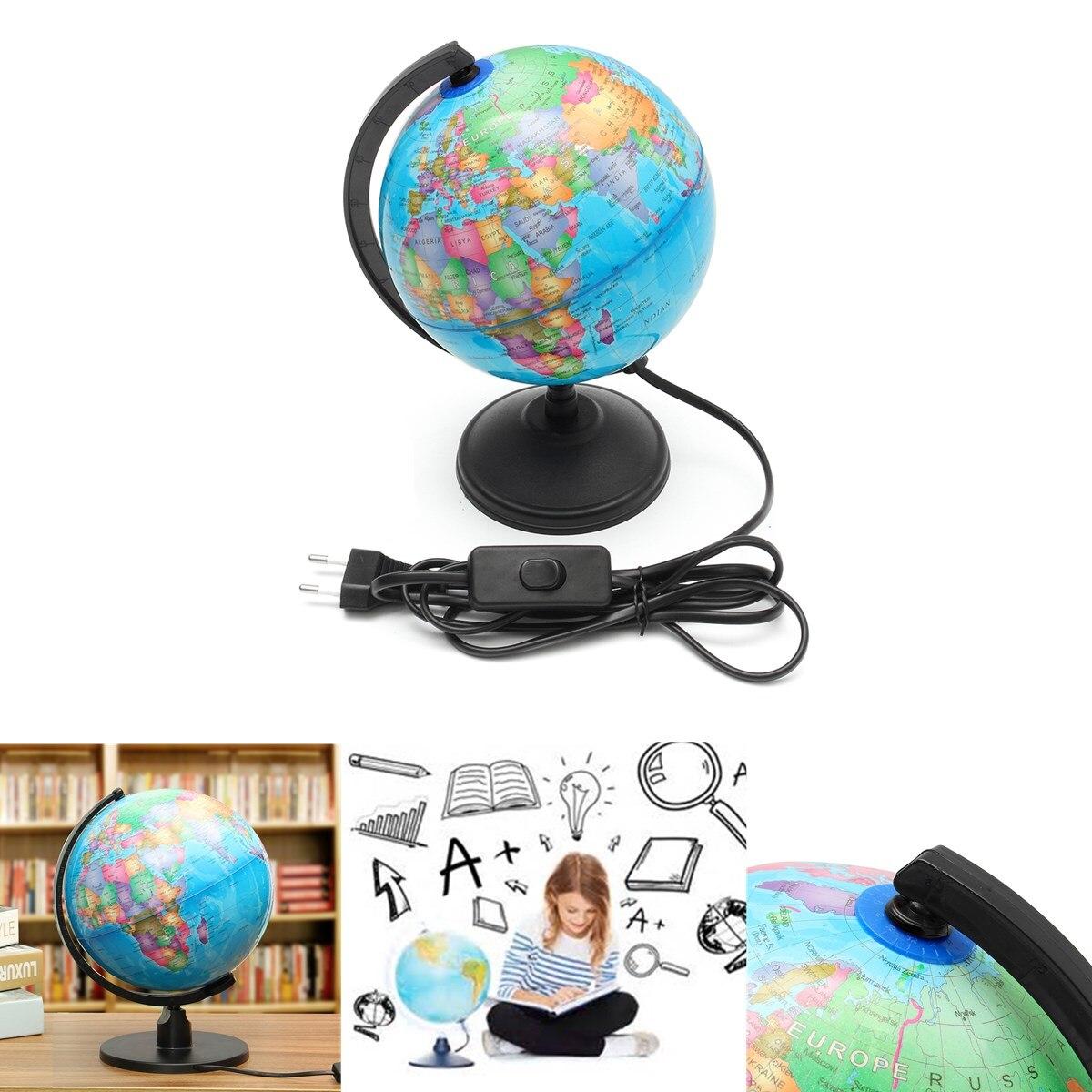 Светодиодный светильник мир земля глобус Карта география образовательная игрушка с подставкой для дома и офиса идеальные миниатюры подарок Офисные гаджеты