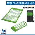 Best Acupressure Mat and Pillow Set for Natural Relief of Stress Pain Tension Spike Acupuncture Mat