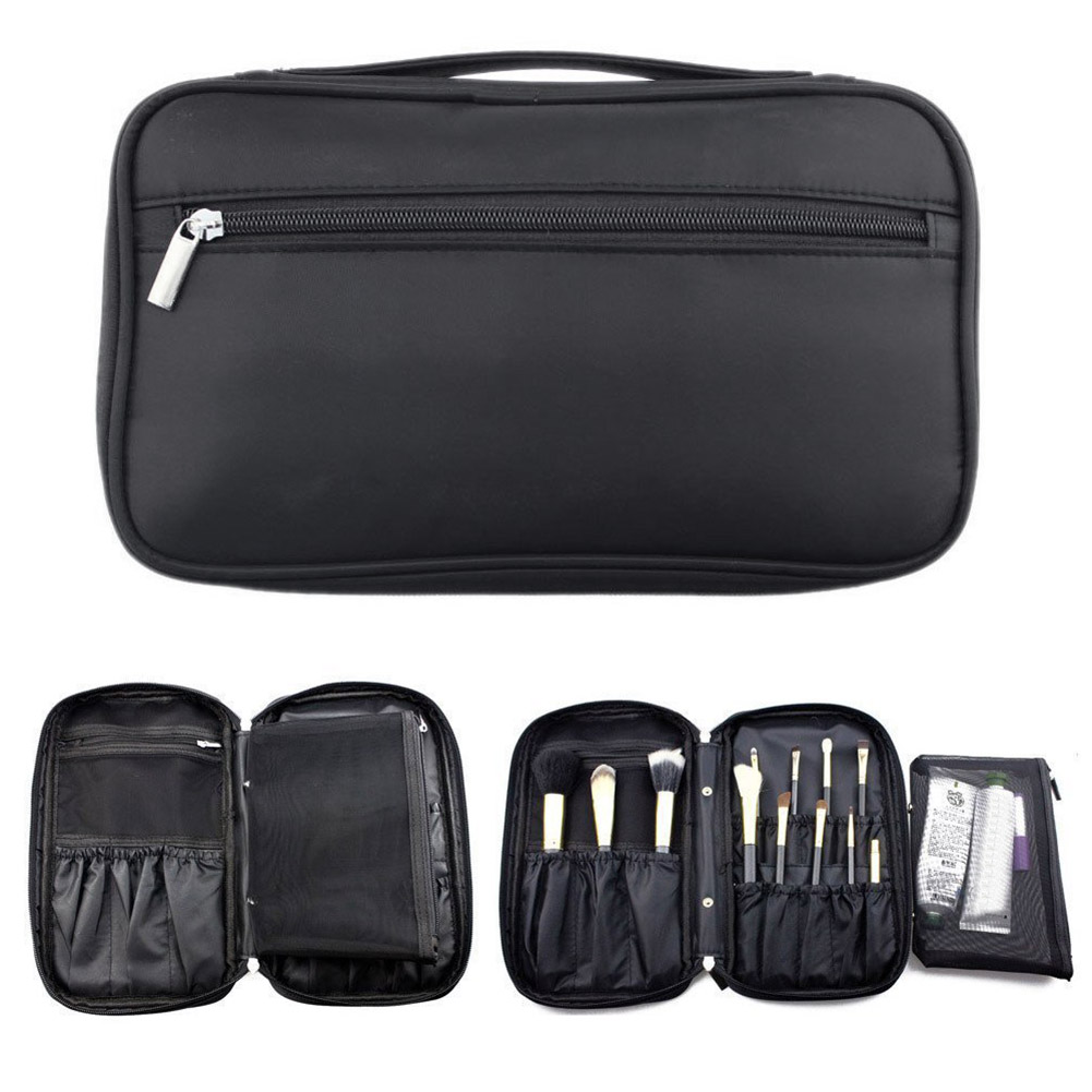 High Quality Travel Organizer Handbag Make Up Brush Zipper Case Pouch Makeup Brushes Holder Bag Cosmetic Tools Popular high quality authentic famous polo golf double clothing bag men travel golf shoes bag custom handbag large capacity45 26 34 cm