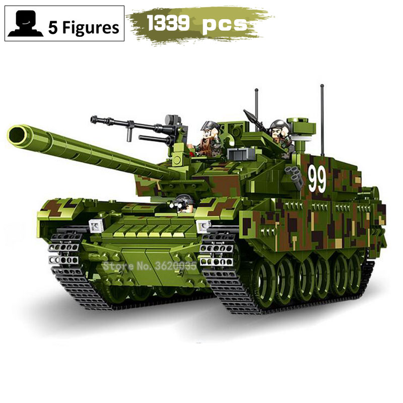 Tank series 99 type main battle Jungle Tank Assembled Building Blocks Toy model compatible legoinglys Military ww2 toys gift mini transportation army military blocks assembled car tank compatible legoingly building brick handmade model toy for kids gift