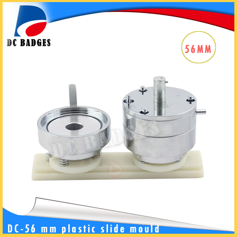 56 mm ABS plastic sliding button mold circular mould adapter badge machine  mould factory outlet cy7c68300c 56lfxc cy7c68300c 56