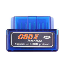 Mini ELM327 OBD2 II scanner Bluetooth Auto Car OBD2 Diagnostic Interface Scanner Tool hot selling