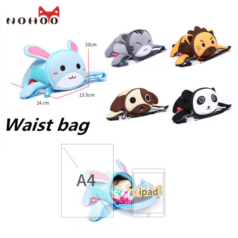 b2b18d28e0bd ... NOHOO Toddler Kids Backpack and Waist Bags Waterproof Pre School Bag  Cute 3D Animal Children School