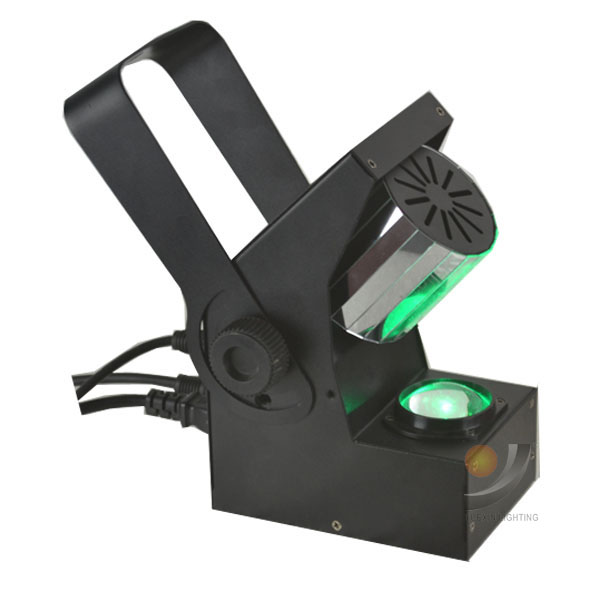 Светодио дный Новый светодиодный роликовый Сканер света 10 светодио дный Вт Cree LED 360 градусов неограниченный барабан сканирующий Эффект диск...