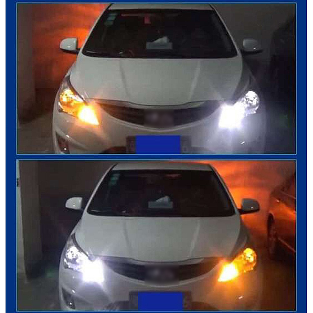 LEADTOPS T20 Led 42 Cahaya Daya Tinggi Daytime Running Light + Turn - Lampu mobil - Foto 6