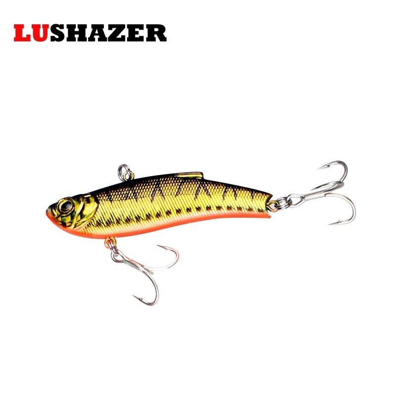 Lushazer fishing vib hard lure fish wobbler for Fishing r us