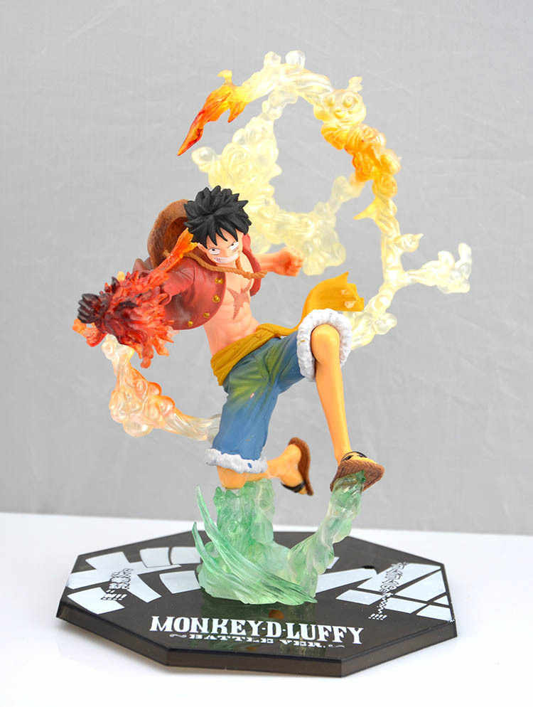 Japanese Anime One Piece zoro Ace LUFFY Sabo PVC Action Figure Model Collection Toy 14CM Roronoa Zoro World Toy Onepiece Sanji