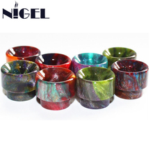 Nigel Epoxy Resin Drip Tips For Kennedy 24 Goon 528 Series RDA Atomizer Vaporizer Tank Vape