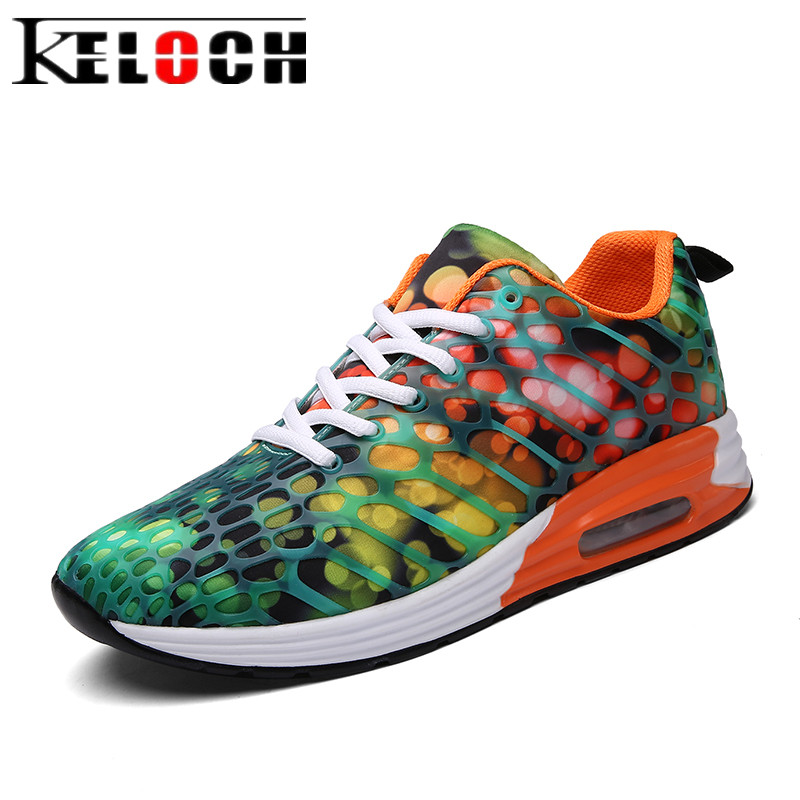 Keloch 2018 Trainers Breathable Sneakers Woman Walking Shoes Women Casual Shoes Lace-Up Flat Shoes Female Zapatillas Mujer цена
