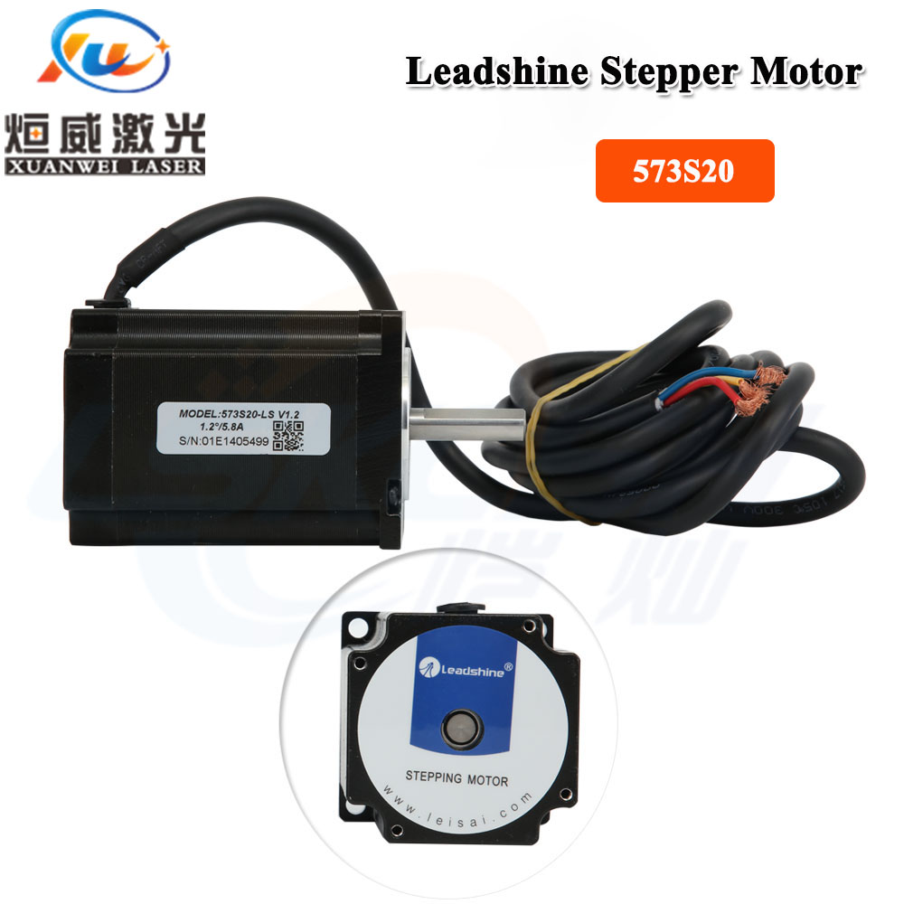 Leadshine Stepper Motor 573S10-LS / 573S20-LS Engine Driver 3 Phase Stepper Motor For CNC Laser Cutting Engraving MachineLeadshine Stepper Motor 573S10-LS / 573S20-LS Engine Driver 3 Phase Stepper Motor For CNC Laser Cutting Engraving Machine
