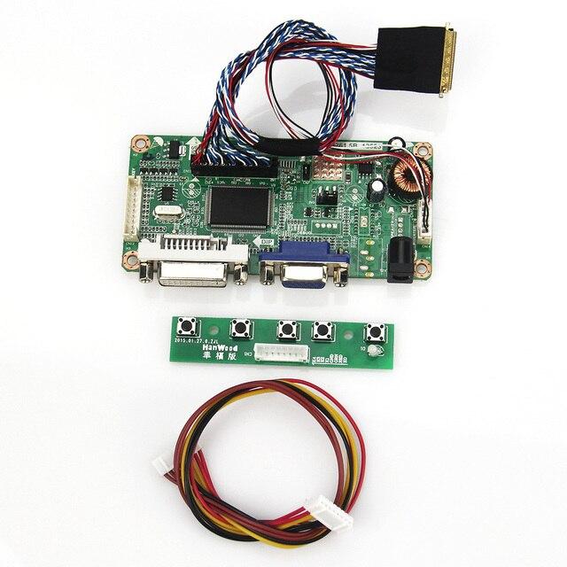 Para LP156WH2 (TL) (AA) CLAA156WA11A (VGA + DVI) M. R2261 M. RT2281 LCD/LED LVDS Placa Driver Do Controlador Do Monitor Reutilizar Laptop 1366x768