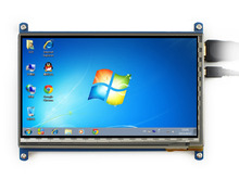 7inch HDMI LCD Capacitive Touch Screen Display Shield Panel for Raspberry Pi BB Black Black Banana pi Supports Various System