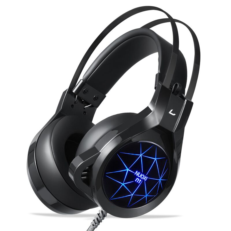 Gaming Headset Stereo Deep Bass Game Headphone Computer Hi-Fi Headsets with Microphone LED light for Computer PC Gamer LOL PS4 g1100 3 5mm pro gaming headset headphone for ps4 laptop crack pattern led led blue black red white