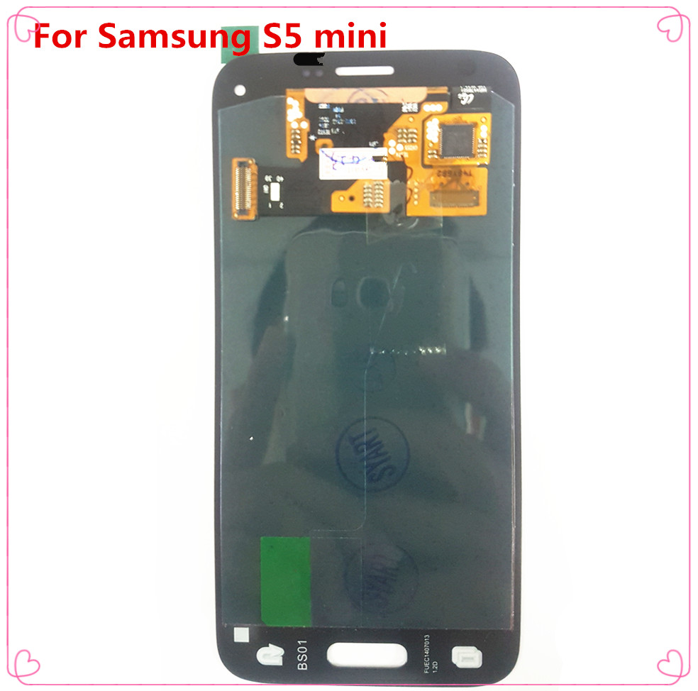 S5 Mini 4.5'' LCD <font><b>Display</b></font> With Touch Screen Digitizer Assembly Without Frame For <font><b>Samsung</b></font> Galaxy S5 Mini G800 <font><b>G800F</b></font> G800H image