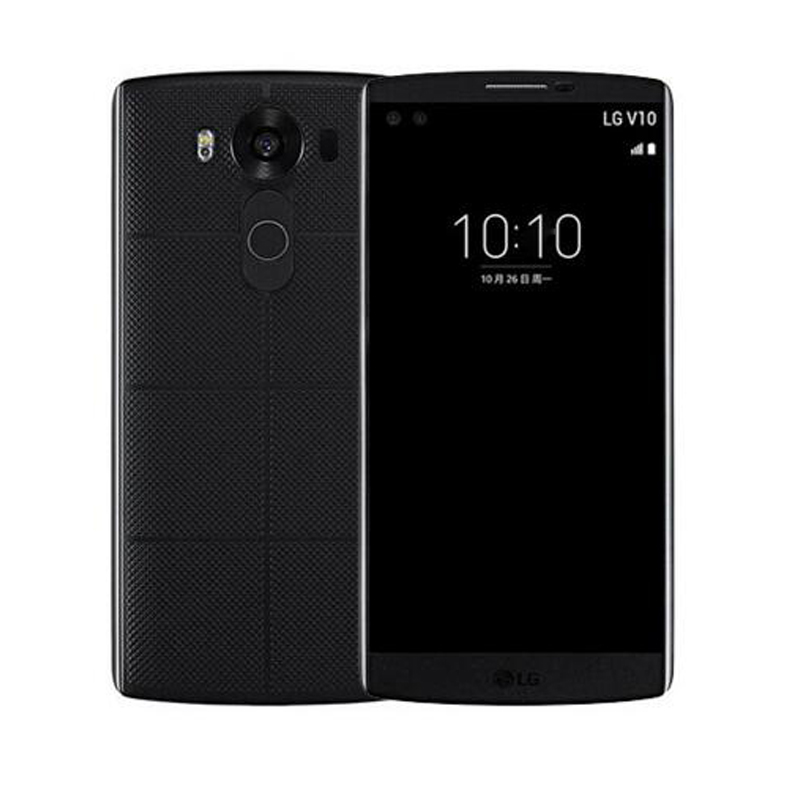 "Original LG V10 H900 H901 4G LTE Android Mobile Phone Hexa Core 5.7"" 16.0MP 4GB RAM 64GB ROM 2560*1440 Smartphone"