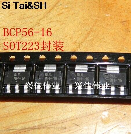 20pcs/lot 80V / 1.5A BCP56-16T1G BCP56-16 SOT-223 New Original