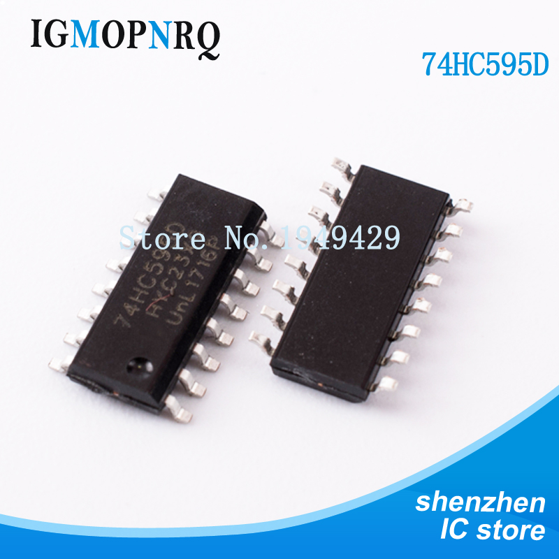 Electronic Components & Supplies 200pcs 74hc595 Sn74hc595n Dip Sn74hc595 Dip16 74hc595n New And Original Ic Fanta High Safety