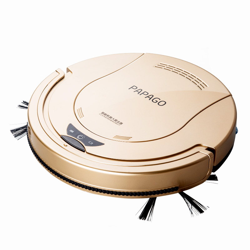 Sweeping Robot Ultra-thin Intelligent Vacuum Cleaner Sweeping Suction Triple Wet and Dry 2000 MAh Large Lithium Battery 55mm sweeping robot ultra thin fully automatic vacuum cleaner wiping machine wet and dry mute 1300pa high suction