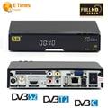 HD Satellite Receiver DVB-S2+DVB-T2/DVB-C TV Tuner Combo V8 Golden Support CCcamd NEWcam DLNA Youtube iptv top box free shipping