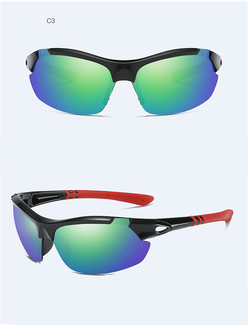 74faaff02c LUOMON Riding Sports Sunglasses Goggle Outdoor Driving Bright Sun Men  s Glasses  Eyewear Anti-wind Sand Polarized Sunglass