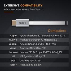 Image 4 - CABLETIME 2020 USB C HDMI адаптер Тип C 3,1 к HDMI 4K 60 Гц конвертер для HDTV Macbook Galaxy S10 Note 10 Huawei Samsung C032