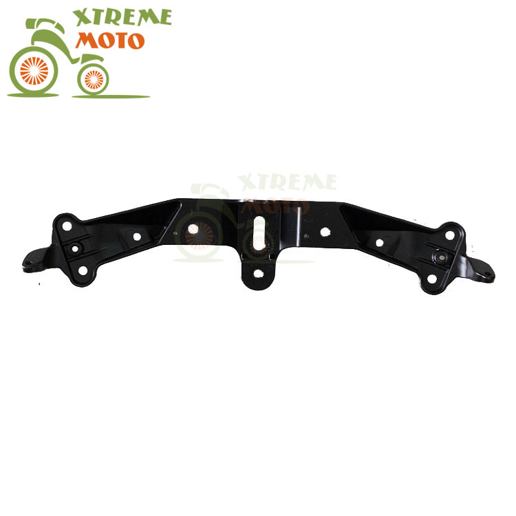 Aluminum Motorcycle Front Upper Fairing Bracket Stay Racer Light For KAWASAKI ZX10R 2004-2005 2004 2005 04 05