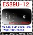 Desbloqueado huawei e589 lte 4g router wifi 3g 4g wifi dongle 4g bolsillo E589u-12 4g mifi router inalámbrico pk e5377 e5220 e5573 e5756