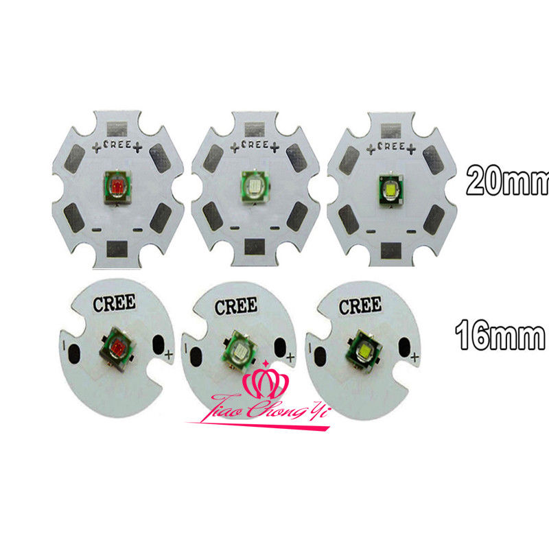 Cree XPE 1 3W Red Green Royal Blue Cool/warm white LED light +3v 3W LED driver