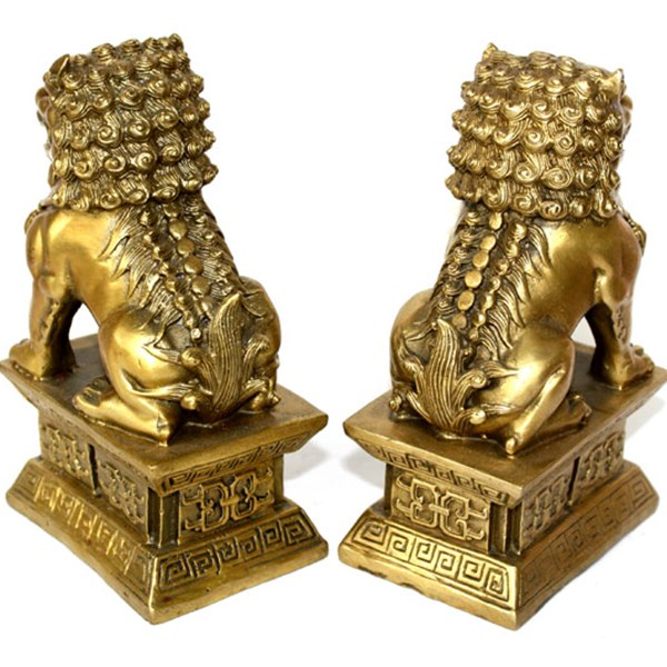 Chinese-brass-copper-statue-Foo-Dogs-Lions-pair-A-female-lion-on-the-talisman-of (1)