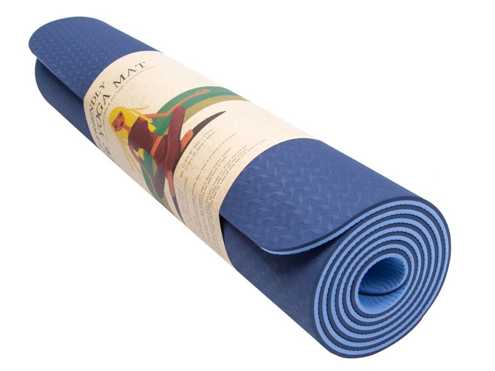 Comfortable yoga mat