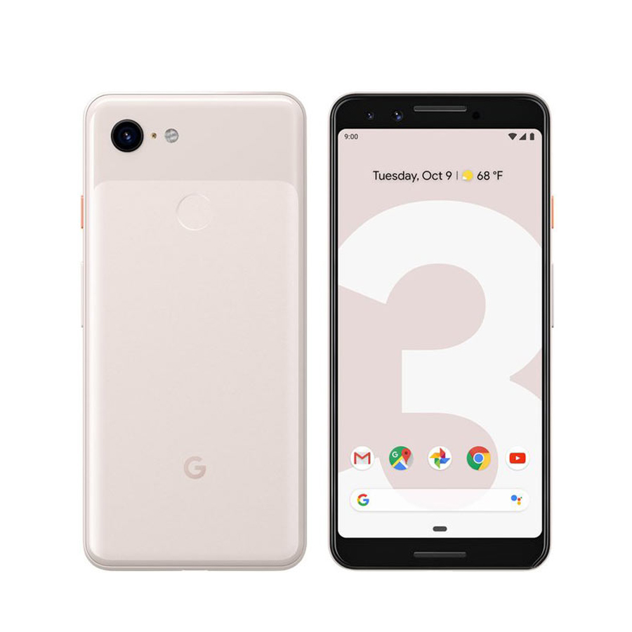 Original New Google Pixel 3 4G LTE Mobile Phone 5.5 Inch 4GB RAM 64/128GB ROM Snapdragon 845 Octa Core Andorid 9 NFC Smart Phone