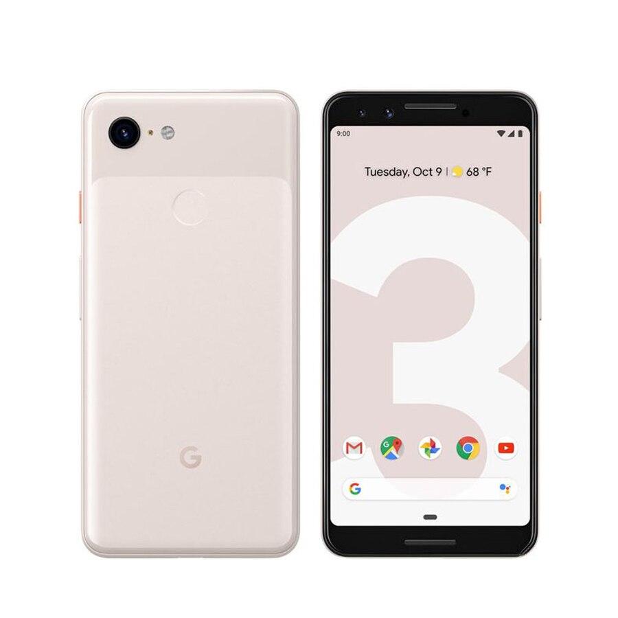 Original nuevo Google Pixel 3 4G LTE teléfono móvil 5,5 pulgadas 4GB RAM 64/128GB ROM Snapdragon 845 Octa Core Android 9 NFC teléfono inteligente UMIDIGI F1 jugar Android 9,0 48MP + 8MP + 16MP cámaras 5150mAh 6GB RAM 64GB ROM 6,3