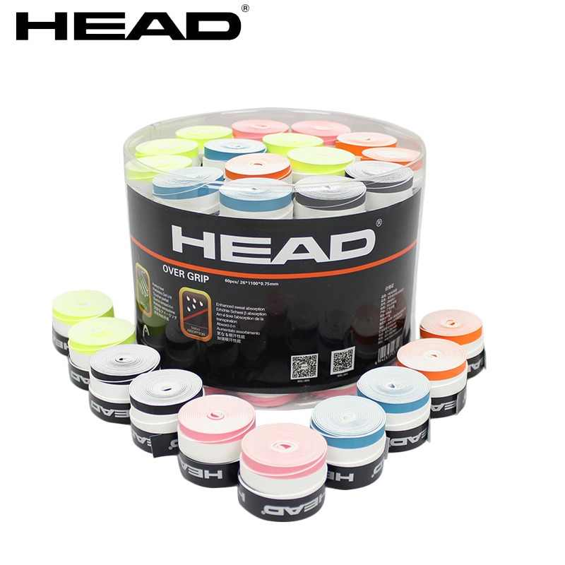 Head Tennis Racket double color Overgrip Anti-skid Sweat Absorbed Soft Wrap Taps Tenis Racquet Dry grips 10pcs/lot 2856001