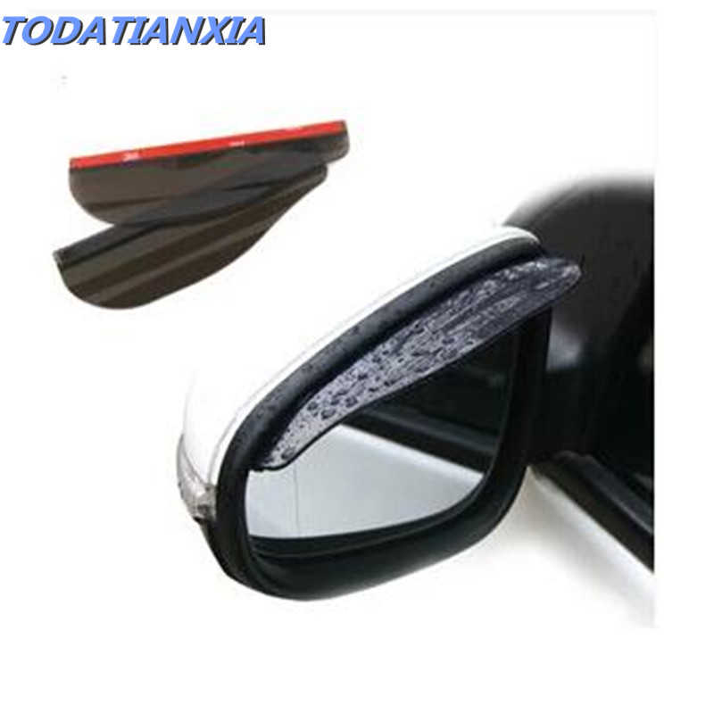 Car Accessories Rearview Mirror Rain Shade FOR Ford Focus Mk3 Peugeot 406 Vectra Smart Fortwo Fiat 500 Panda Volvo V40 Toyota