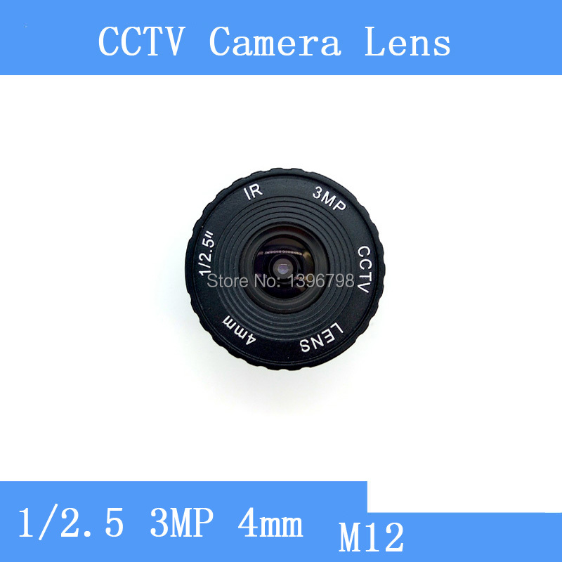 PU`Aimetis Factory direct surveillance camera lens M12 interfaces F2 fixed aperture HD 3MP 4mm mushroom CCTV lens starlight lens 3mp 4mm fixed aperture f1 5 for sony imx290 imx291 ip camera free shipping