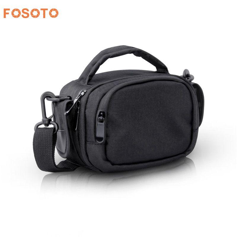 fosoto font b Digital b font DSLR Camera bag Shoulder Bags Case For Canon JVC Panasonic