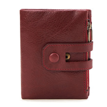 Genuine Leather Men Wallets Brand High Quality Design Wallets with Coin Pocket Purses Gift For Men Card Holder Bifold Male Purse new men wallets famous brand genuine leather wallet hasp design wallets with coin pocket purse card holder for men carteira
