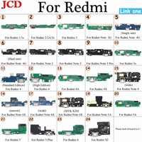 JCD para Redmi 4A 4X USB conector de carga de alimentación enchufe Puerto Dock Flex Cable para Xiaomi para Redmi 1 2 3s 3s 4 Nota 4G nota 3/3 Pro
