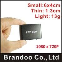 1CH SD FPV DVR. mini größe und super licht, unterstützung HD analogen kamera für aufnahme in 32 GB micro sd karte